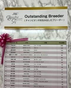outstanding breeder